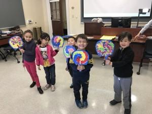 Art Day 3/11/17 - Korean fan